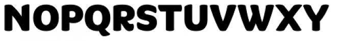 Quenda Heavy Font UPPERCASE
