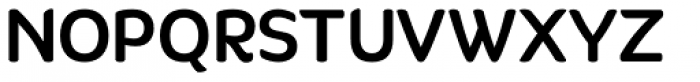 Quenda Medium Font UPPERCASE