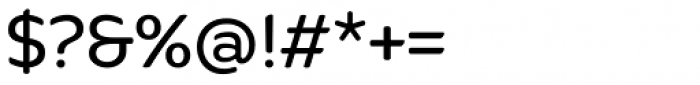 Quenda Regular Font OTHER CHARS