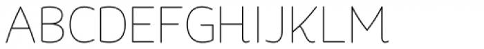 Quenda Thin Font UPPERCASE