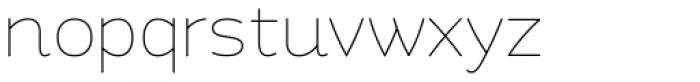 Quenda Thin Font LOWERCASE