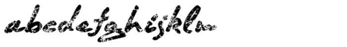 Quendel Crayon Font LOWERCASE