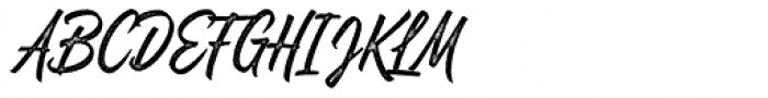Quentine Stamp Font UPPERCASE