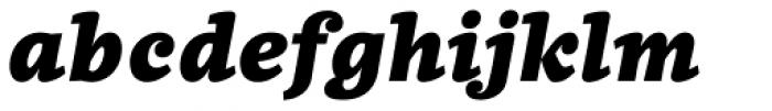 Quercus 10 Black Italic Font LOWERCASE