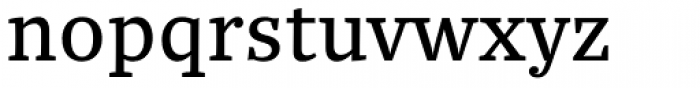 Quercus 10 Font LOWERCASE