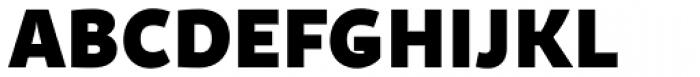 Quercus Sans Black Font UPPERCASE