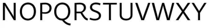 Quercus Sans Book Font UPPERCASE