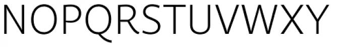 Quercus Sans Light Font UPPERCASE
