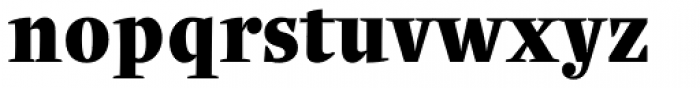 Quercus Serif Black Font LOWERCASE