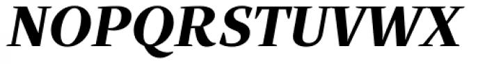 Quercus Serif Bold Italic Font UPPERCASE