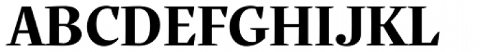Quercus Serif Bold Font UPPERCASE