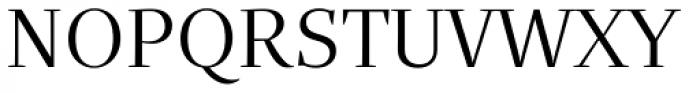Quercus Serif Book Font UPPERCASE