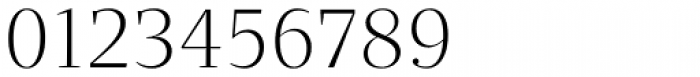 Quercus Serif Light Font OTHER CHARS