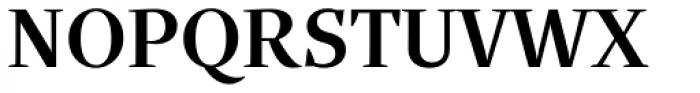 Quercus Serif Medium Font UPPERCASE