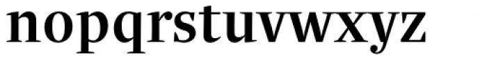 Quercus Serif Medium Font LOWERCASE