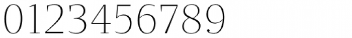 Quercus Serif Thin Font OTHER CHARS