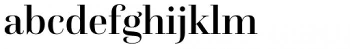 Questa Grande Medium Font LOWERCASE