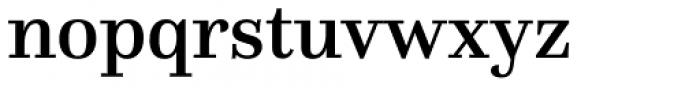 Questa Medium Font LOWERCASE