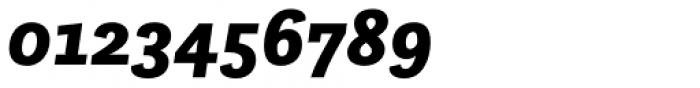 Questa Sans Black Italic Font OTHER CHARS