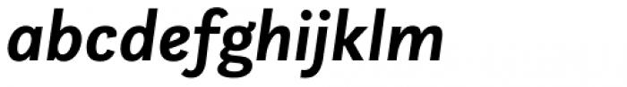 Questa Sans Bold Italic Font LOWERCASE