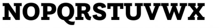 Questa Slab Black Font UPPERCASE