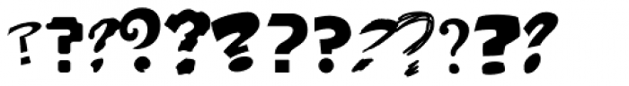 Questionable Things Font LOWERCASE
