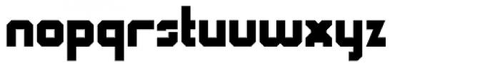 QueueBrick Closed Black Font LOWERCASE