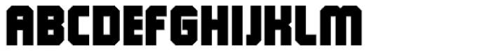 QueueBrick Closed Ultra Font UPPERCASE