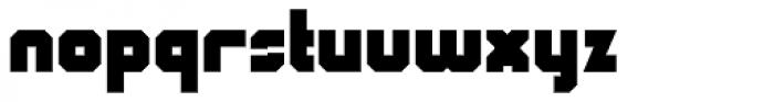 QueueBrick Closed Ultra Font LOWERCASE