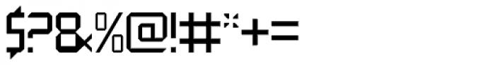 QueueBrick Closed Font OTHER CHARS