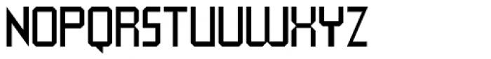QueueBrick Closed Font UPPERCASE