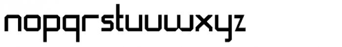 QueueBrick Closed Font LOWERCASE