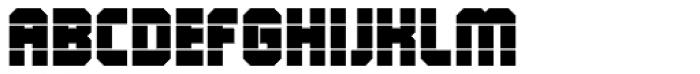 QueueBrick Open Ultra Font UPPERCASE