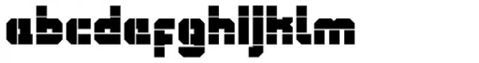 QueueBrick Open Ultra Font LOWERCASE