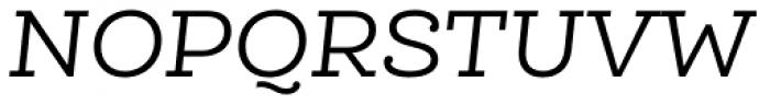 Queulat Alt Regular Italic Font UPPERCASE