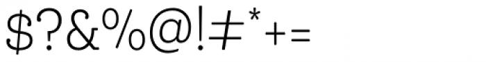 Queulat Cnd Soft Light Font OTHER CHARS