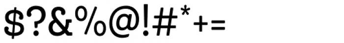 Queulat Cnd Soft Medium Font OTHER CHARS