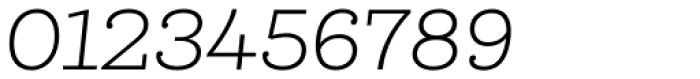 Queulat Light Italic Font OTHER CHARS