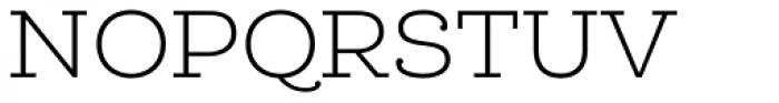 Queulat Light Font UPPERCASE
