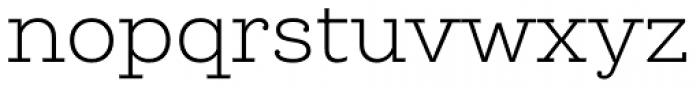 Queulat Light Font LOWERCASE