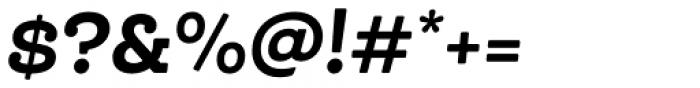 Queulat Soft Black It Font OTHER CHARS