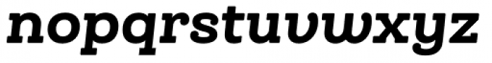 Queulat Soft Black It Font LOWERCASE