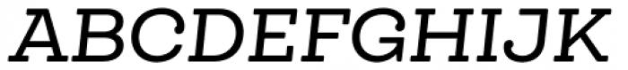 Queulat Soft Medium It Font UPPERCASE