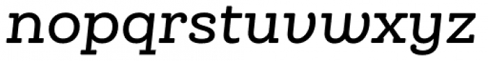 Queulat Soft Medium It Font LOWERCASE