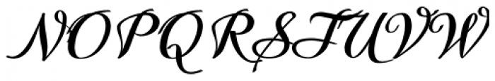 Quiana Normal Font UPPERCASE