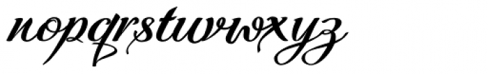 Quiana Normal Font LOWERCASE