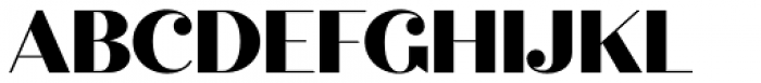 Quiche Display Black Font UPPERCASE