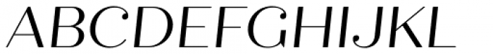 Quiche Display Italic Font UPPERCASE