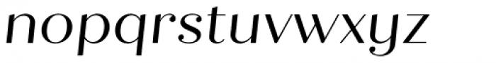 Quiche Display Italic Font LOWERCASE