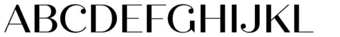 Quiche Display Medium Font UPPERCASE